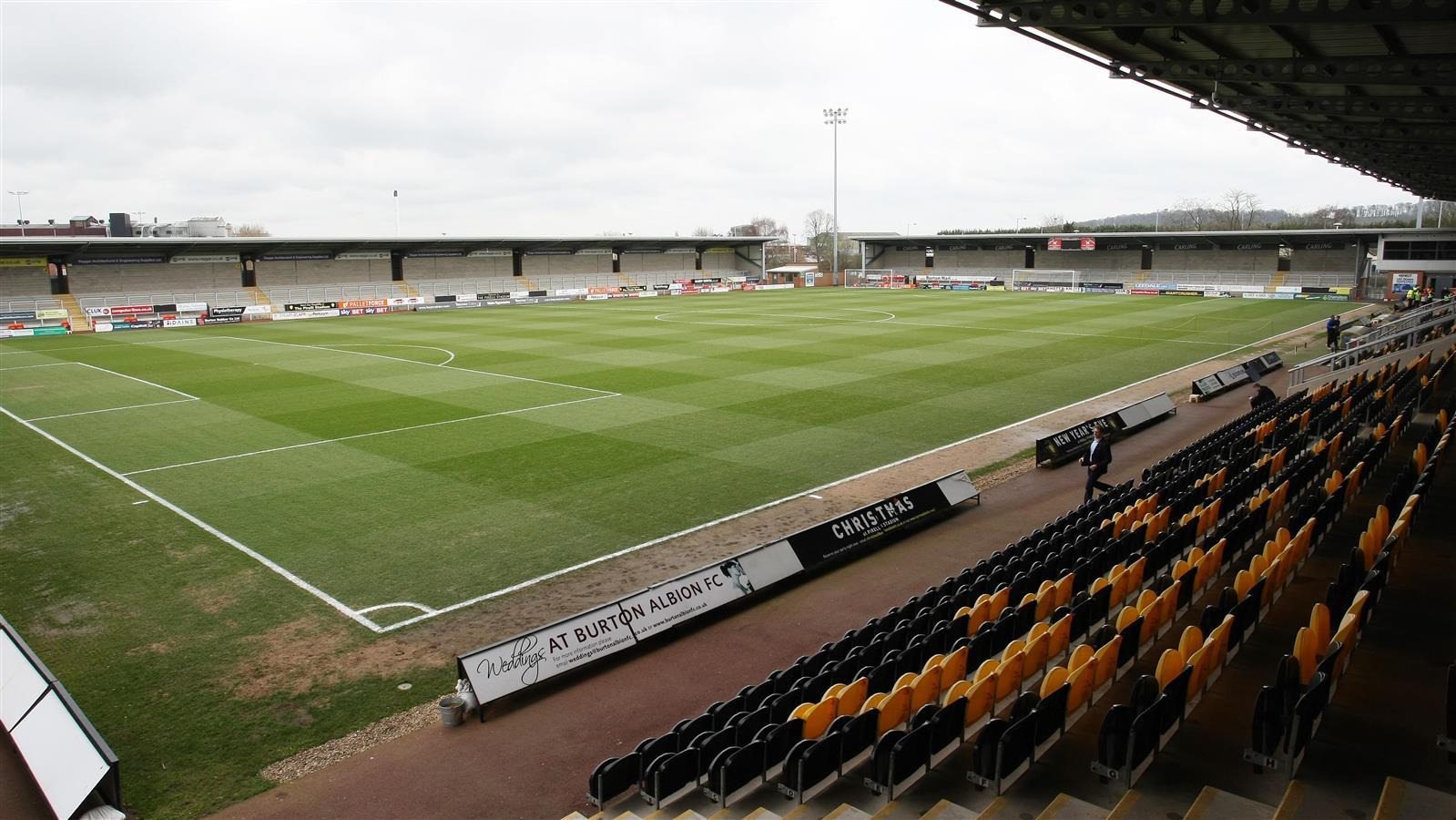 Pre Season Ticket Prices Confirmed News Burton Albion