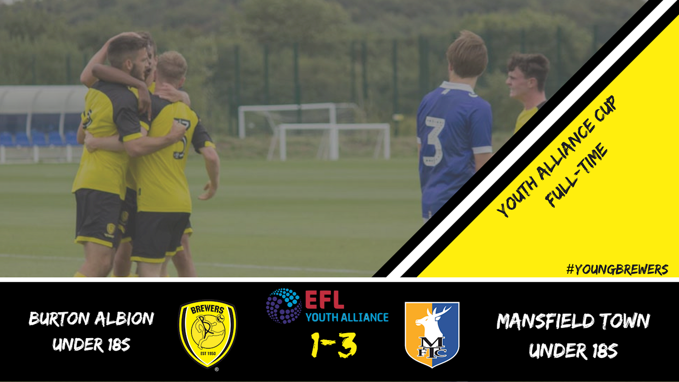 REPORT: YOUNG BREWERS VS MANSFIELD TOWN - News - Burton Albion