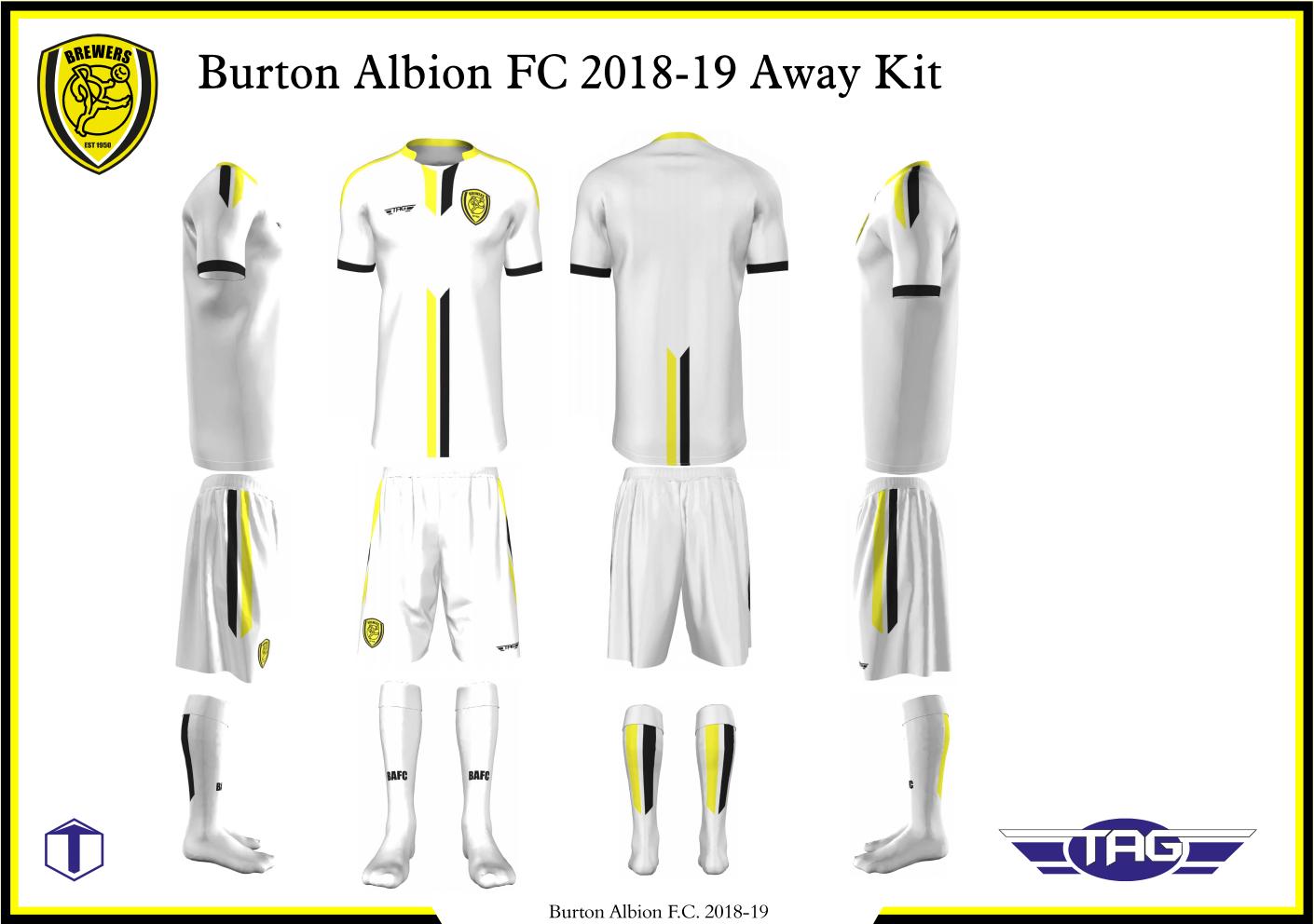 2018/19 KIT REVEALED - News - Burton Albion